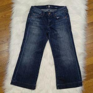 DOJO 7 For All Mankind Capri Jeans size 24